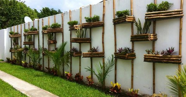 Exteriores verdes 10 macetas de madera fabulosas - Macetas madera exterior ...