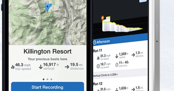 best iphone ski tracking app