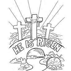 Top 25 Free Printable Easter Coloring Pages Online Sunday School Coloring Pages Easter Sunday School Easter Christian
