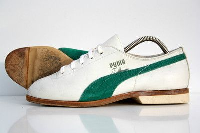 Vintage 70s Puma Fullhouse Bowling Shoes Sneakers Trainers 80s 6m 7 5w 5uk 38eu 99