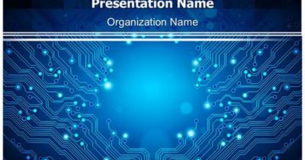 Check Out Our Professionally Designed Electrical Circuit Board Ppt Template Powerpoint Presentation Design Powerpoint Templates Powerpoint Background Design
