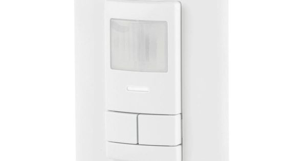 Sensor Switch WSX PDT 2P WH Dual Detection Occupancy Two Pole Wall Switch White