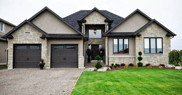 Dark brown paint color for house exterior google search curb appeal pinterest brown Brown exterior house paint schemes
