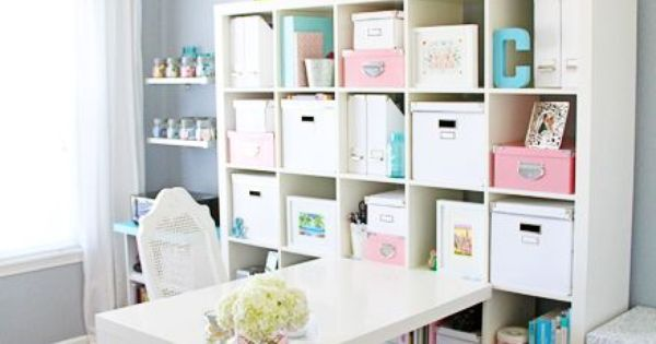 Craft Room Makeovers: Craft Room Makeover Using An Ikea