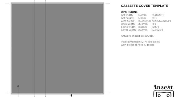 Templates Insert Tapes Regarding Cassette J Card Template Cumed Org Card Template Templates Free Business Card Templates