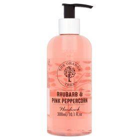 The Orange Tree Rhubarb Pink Peppercorn Handwash Undefined