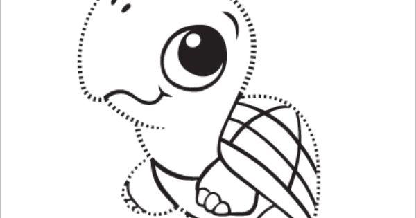 LeapFrog Printable Turtle Tracing