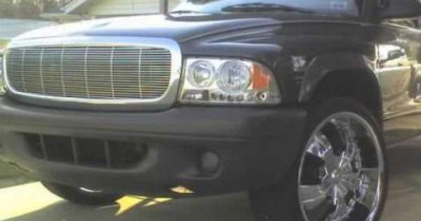 Dodge Durango 1998 2003 Chrome Billet Grille Dodge Durango Dodge Dakota Dodge