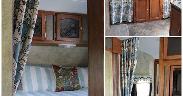 Travel Trailer Makeover New Master Bedroom And Side