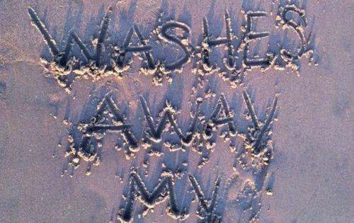 Jesus washes my sins away. AMEN!