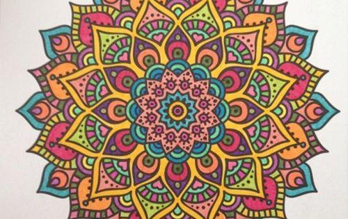 Mandala Boyama Nasil Yapilir Mandala Art Mandala Cizimler