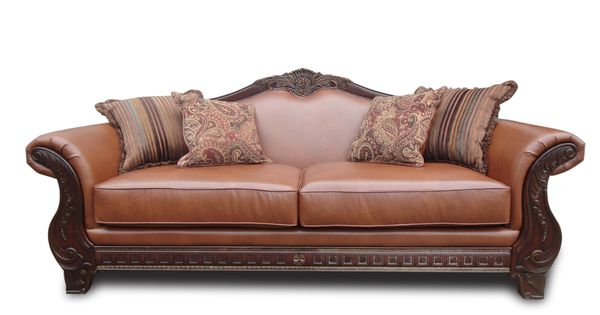 Cognac Living Room Set At Famsaus Easy Credit Famsa