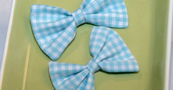 Bow tie - Boy and Girl Blue Picnic | Bow Tie Co. #bowtie