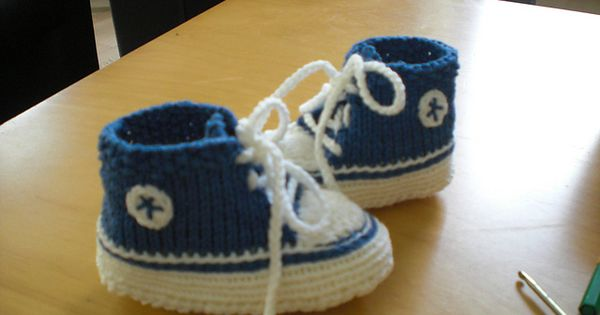 Ravelry: baby converse gestrickt pattern by cillidesign ...