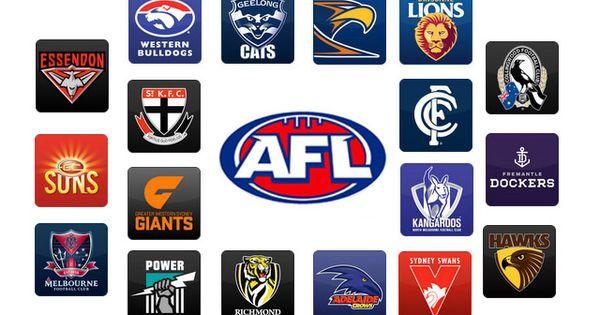 Afl Colours Kl Australian Football League Australian Football Afl