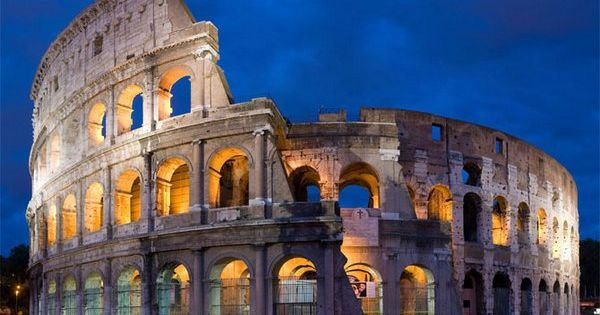 Colloseum in Rome, Italy. One day....