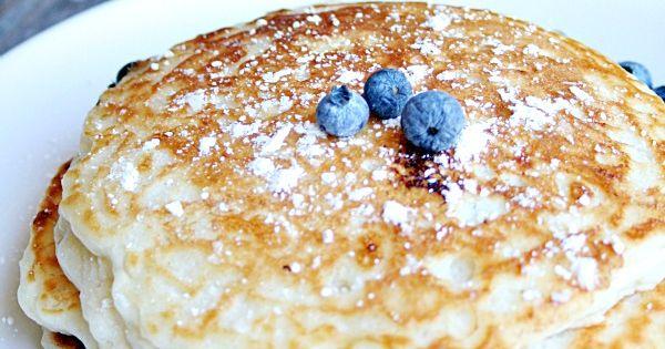 how to make sour milk pancakes