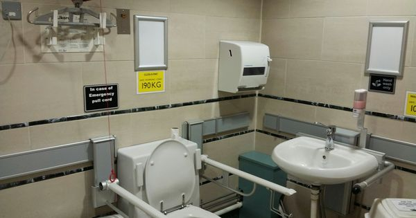 The Trafford Centre Barton Dock Road Manchester M17 8aa Changingplaces Toilet Facility