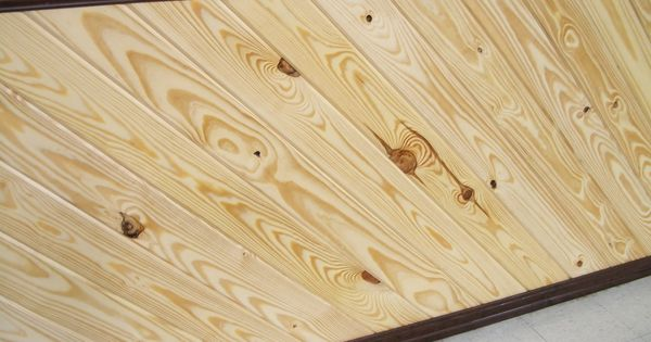 1x6 Rustic Knotty Pine Southern Yellow Pine Wainscoting