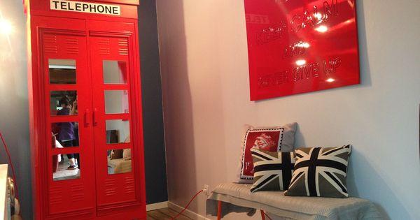 Deco tuto cr ation d 39 une armoire cabine t l phonique anglaise avec l 3 - Cabine telephonique a vendre ...