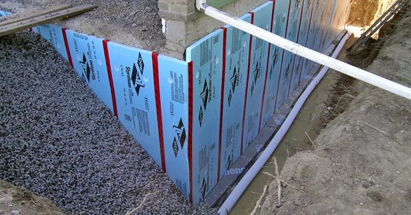 Waterproofing At Foundation Architectural Knowledge And