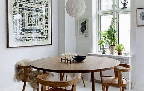 Comedores con mesas redondas mesa redonda comedores y sal n - Salon mesa redonda ...