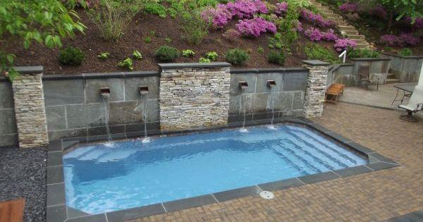 Retaining walls for swimming pools fiberglass pools for Fiber glass cost