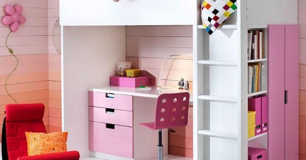 Cama alta ikea - Muebles literas infantiles ...