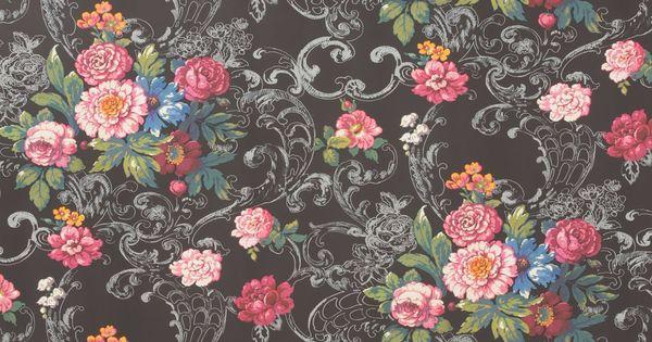 Compoppy Wallpaper Home Interior : Compoppy Wallpaper Home Interior : Venetian Bouquet Wallpaper Venetian ...