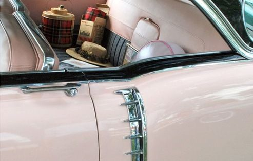 Pink & black car | The House of Beccaria ( SER road