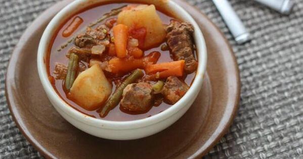Quick Easy Crock Pot Beef Stew Recipe Eating On A Dime Recipe Beef Stew Crockpot Crockpot Recipes Beef Stew Beef Stew Crockpot Easy