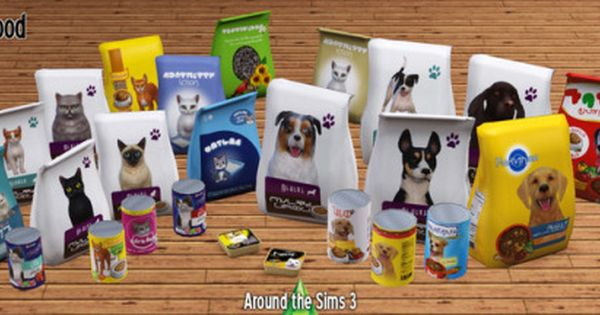 Lana Cc Finds Aroundthesims Around The Sims 3 Pet Food