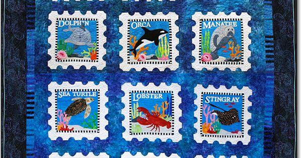 Sealife 76 Quot X 85 Quot Designed By Debra Gabel Block Of The
