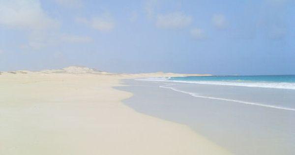 One of the world's most beautiful beaches.... Boa Vista, Cape Verde islands