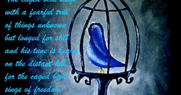 I Know Why The Caged Bird Sings Tumblr The Caged Bird Sings Singing Birds