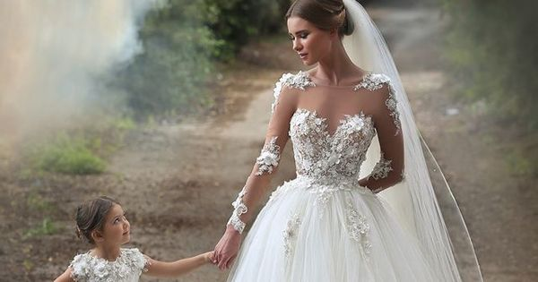 2015 cinderella flower girls dresses special occasion kids for Matching wedding and flower girl dresses