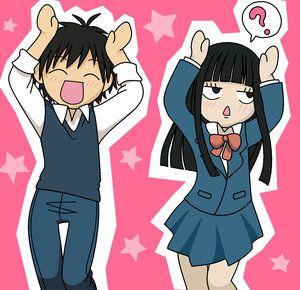 Kimi Ni Todoke From Me To You Shouta Kazehaya X Sawako Kuronuma Otp Anime Fanart Sailormeowmeow Kimi Ni Todoke Anime Manga Cute