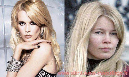 Plus Belle Femme Du Monde Sans Maquillage Claudia Schiffer Avec Ou Sans Maquillage Stars Sans Maquillage Maquillage Avant Apres Celebrite Chirurgie Plastique