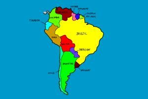 How to Draw South America - An easy, step by step drawing ... Easy Map Of Latin America on map of spain, map of bahamas, map of jamaica, map of argentina, map of united states, map of middle east, map of amazon river, physical map latin america, map of caribbean, map of atacama desert, map of puerto rico, map of canada, map of falkland islands, countries in south america, map of saudi arabia, map of costa rica, map of ecuador, map of bolivia, map of west indies, map of guyana,