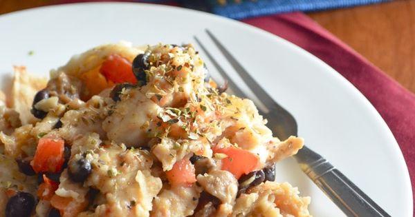 Chicken mushrooms, Tortilla casserole and Tortillas on Pinterest