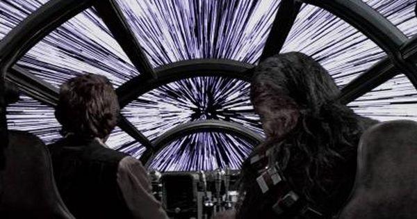 Star Wars Falcon Hyperspace Wallpaper 79310 Star Wars Universe Star Wars Episodes Millennium Falcon