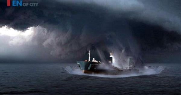 Top Ten Mysterious Places On Earth Bermuda Triangle Mysterious