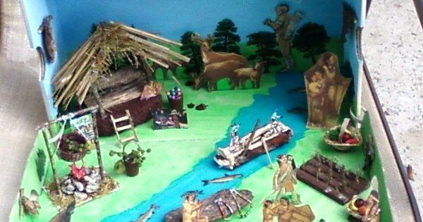how to make a plateau diorama