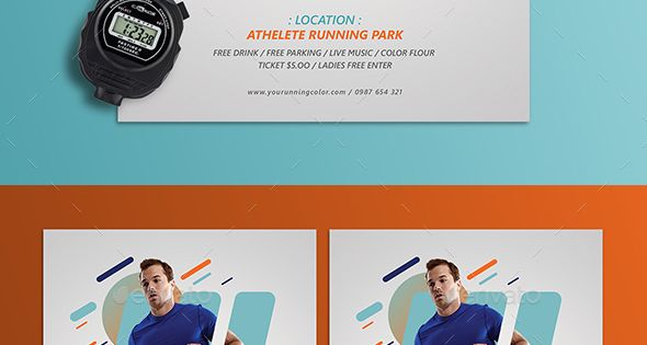 Run Fest Flyer Flyer Template Brochures And Layout Design