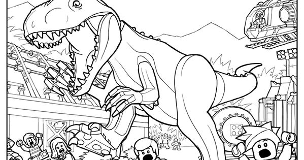 lego coloring page 3 | lego® coloring sheets | pinterest | lego ... - Lego Jurassic Park Coloring Pages