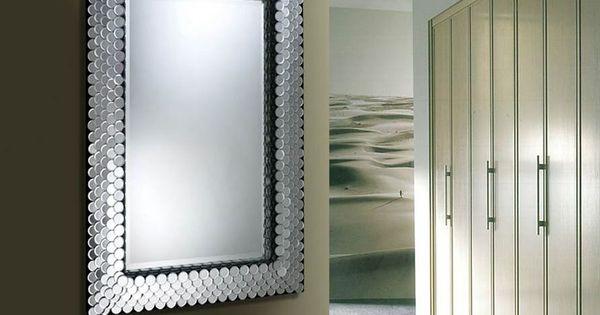 Espejos modernos de cristal espejos modernos de cristal - Espejos decorativos modernos ...