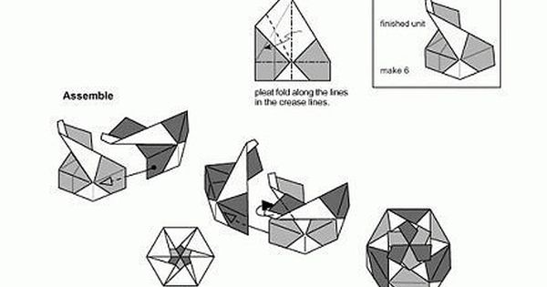 Magnificent Origami Box Instructions Hexagon Wiring Cloud Pendufoxcilixyz
