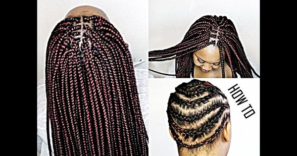 Crochet Box Braids Step By Step : HOW TO SLAY CROCHET BRAIDS! (BOX BRAIDS) [Video