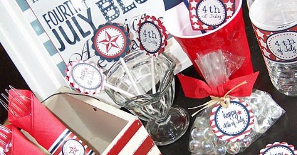 Fourth of July Party Ideas I love this holiday!!!!
