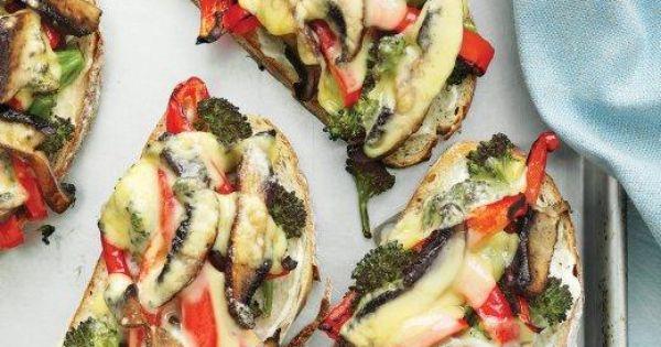 Portobello, Recipe and Vegan mayo on Pinterest